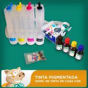 Bulk Ink Epson T23 - T24 - TX105 - TX115 Tinta Pigmentada