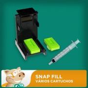 Snap Fill para V�rios Cartuchos