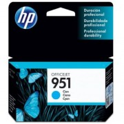 Cartucho HP 951 CN050AL Officejet Ciano