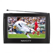 GPS Tela 4.3 Navcity WAY 45 TV Digital, Multimidia, Alerta Radar, Navegador Rota Certa, Transmissor 