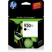 Cartucho HP (920XL) Preto CD975AL