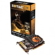 Placa de Video PCI EXPRESS 1GB GT 430 Zotac DDR3 64BITS DVI/HDMI ZT-40611-10L