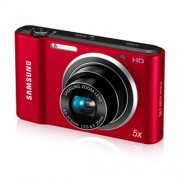 Camera Digital Samsung ST66 16.1 MP, 5X Zoom Optico, Display LCD 2.7 Polegadas, Filma em HD, Retrato