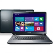 Notebook Samsung 500P4C-AD2 com INTEL Core I7 4GB 500GB LED 14�� Windows 8