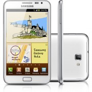 Celular Samsung Galaxy Note N7000 - Branco - Tela Touch Super Amoled 5.3, Android 2.3, Dual Core 1.4