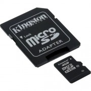 Carto de Memria 4GB Micro SDHC com Adaptador Kingston Classe 10 SDC10/4GB