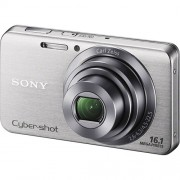 Camera Digital SONY DSC-W630 16.1 Megapixels Prata Panoramica