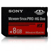 Cart�o de Mem�ria 8GB PRO-HG Duo SONY MS-HX8A/QK