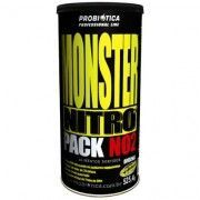Monster Nitro Pack NO2 - 44 Packs - Probi�tica