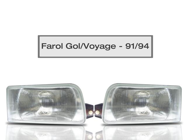 Farol Gol / Voyage / Saveiro / Parati - Ano 1991 At� 1995