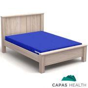 Capa Colch�o Hospitalar Casal Azul 1,38 x 1,88 x 0,20 cm