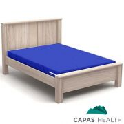 Capa Colch�o Hospitalar Casal Azul 1,38 x 1,88 x 0,15 cm