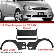 Kit Parachoque Dianteiro Ford Ka 02 � 07 Preto