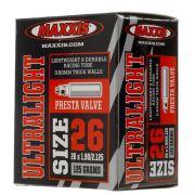 C�mara Maxxis 26x1.9/2.3 Ultralight V�lv. Presta 48mm - 126g
