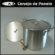 Caldeir�o 27 litros com V�lvula e Fundo-falso