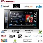 Dvd Player  Pioneer Avh-x2780bt 2 Din Android Iphone