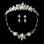 Conjunto de tiara, brincos e colar Great