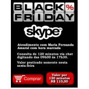 Consultoria Skype Black Friday 120 minutos