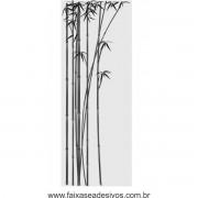 011B - Adesivo Jateado para vidro Bamboo 220x85cm