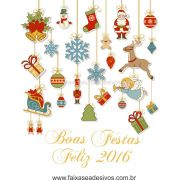 1211 - Adesivos Pendurikalhos de enfeites Natal