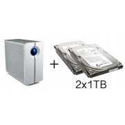 HD + Case LaCie 2Big NAS Network 2TB