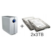 HD + Case LaCie 2Big NAS Network 6TB