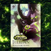 Combo Camiseta + Livro World of Warcraft: Illidan