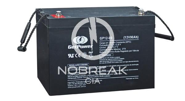 Bateria Selada VRLA 90 Ah Get Power GP12-90