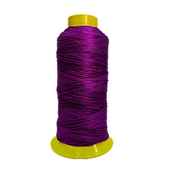Cord�o de seda fino uva- FS005 ATACADO