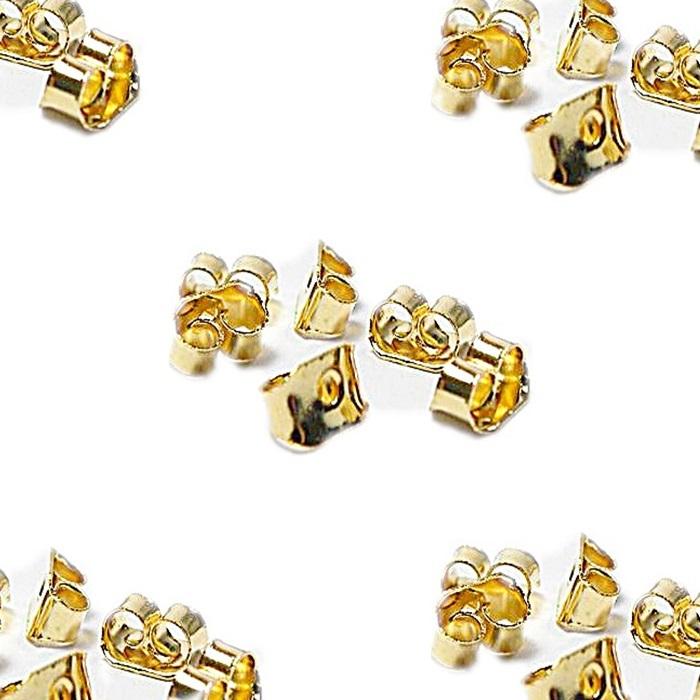 Tarracha Borboleta dourada (500 pares)- TBAD001 ATACADO