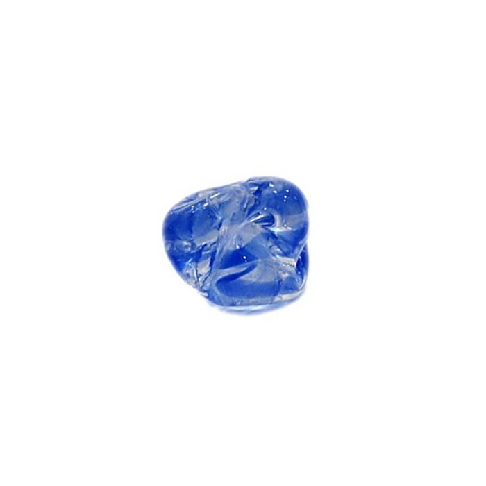 Meteoro de murano P azul royal (10 unidades) - MU334