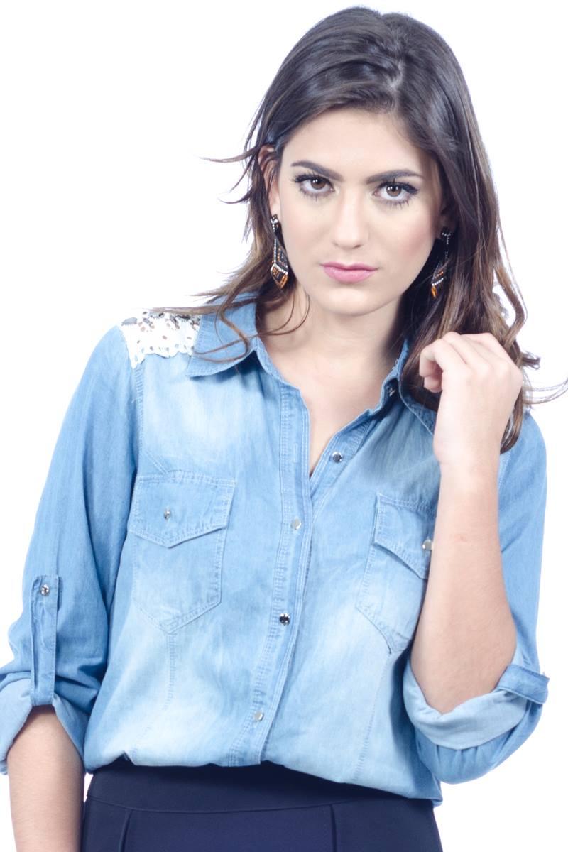 Camisa Jeans Clara Holin Stone 29675
