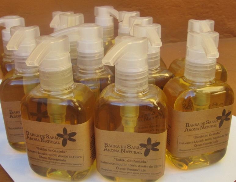 Sab�o de Castela - Sabonete L�quido 100% Azeite de Oliva - 57