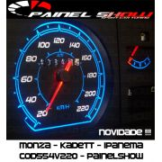 Kit Translucido p/ Painel - Cod554v220 - Monza Kadett Ipanema IceBlue