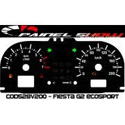 Kit Transl�cido p/ Painel - Cod528v200 - Fiesta ou Escosport