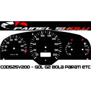 Kit Transl�cido p/ Painel - Cod525v200 - Gol Bola G2 Contagiros