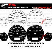 Kit Transl�cido p/ Painel - Cod560v220 - Golf Polo