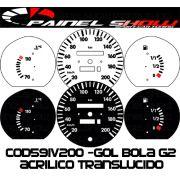 Kit Transl�cido p/ Painel - Cod591v200 - Gol Bola 95 / 96