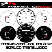 Kit Transl�cido p/ Painel - Cod645v200 - Gol Bola 95 ou 96