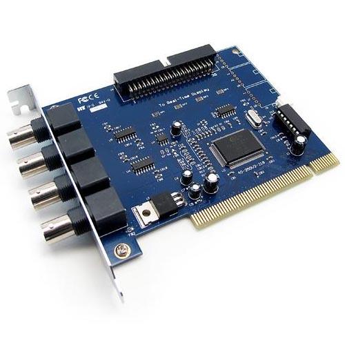 Placa de Captura Geovision GV250 para 04 C�meras 30 FPS  - Tudoseg Cftv - Sistemas de Seguran�a Eletr�nica