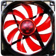 Cooler Fan G-Fire EW2252EGEX 12x12cm Led Vermelho