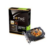 Placa de V�deo NVidia Geforce GTX 750TI 2GB 128-Bit GDDR5 Zotac - 5400MHz - 1033MHz GPU - 640 Cuda Cores