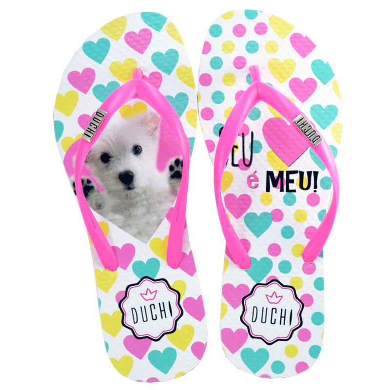 Sand�lia Duchi Dog Heart