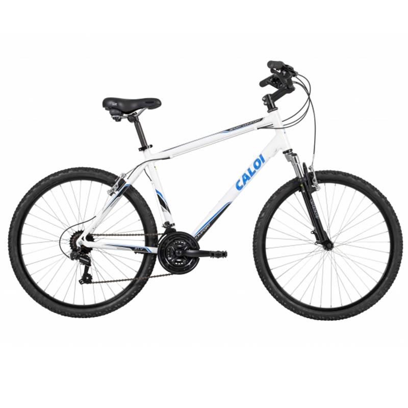Bicicleta Caloi Sport Comfort Branco/Preto