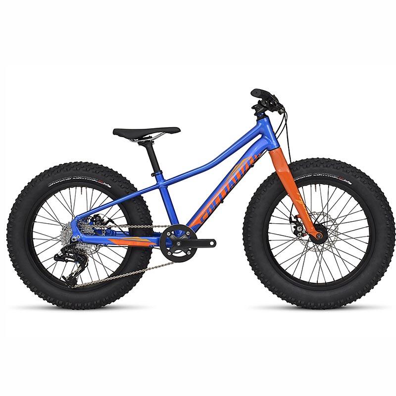 Bicicleta Specialized FatBoy Aro 20 Azul/Laranja 2017