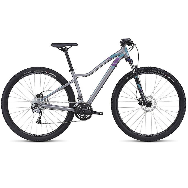 Bicicleta Specialized Jett Sport Cinza/Azul/Roxo 2016