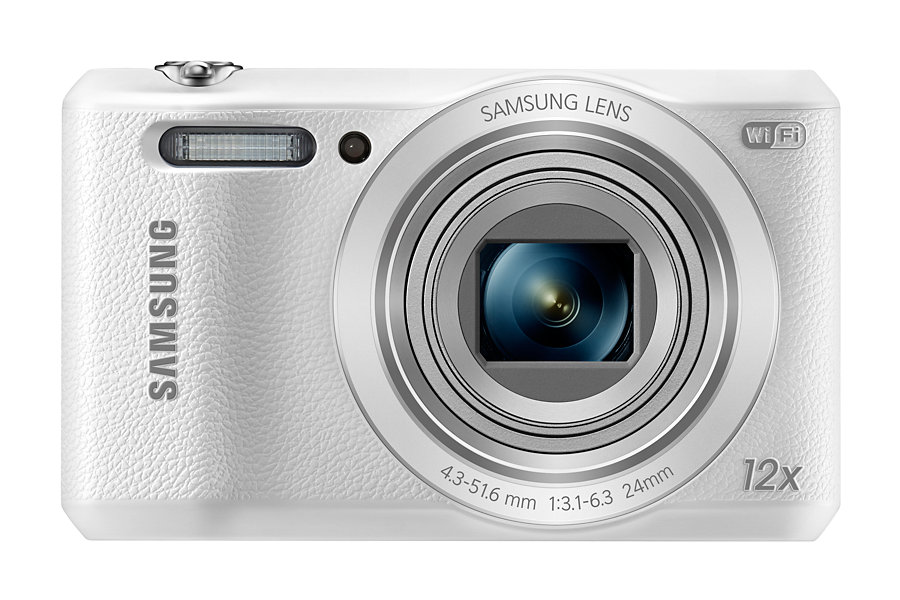 CAMERA DIGITAL 16.2MP SAMSUNG WHITE WB35F
