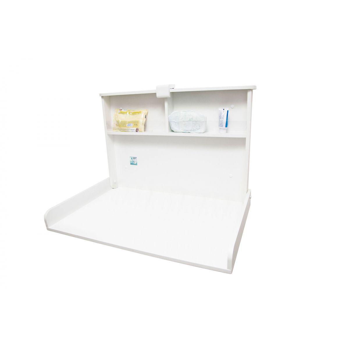 Trocador de Fraldas - Fraldario Ultra Clean Horizontal para fixar na parede