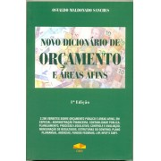 Novo Dicion�rio de Or�amento e �reas Afins, 1a.ed., 2013