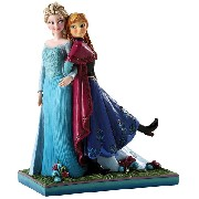 Jim Shore Anna and Elsa from Frozen Sisters Forever